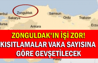 Zonguldak'ın işi zor! Kısıtlamalar vaka sayısına göre gevşetilecek