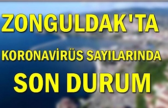 Zonguldak'ta Koronavirüs sayılarında son durum