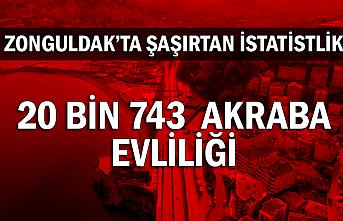 Zonguldak'ta şaşırtan istatislik