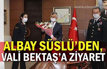 Albay Süslü'den, ValiBektaş'a ziyaret