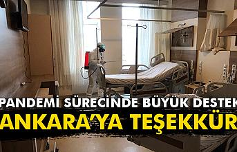 Ankara'ya teşekkür