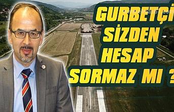 Avrupa Zonguldaklılar Derneği'nden siyasilere ve Bartın ile Karabük valiliğine Havaalanı sitemi...