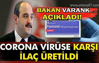 Bakan Varank açıkladı! Corona virüse karşı ilaç üretildi