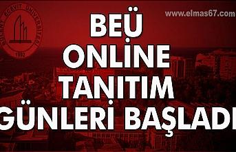 BEÜ, Online tanıtım günleri başladı