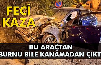 Ereğli'de feci kaza