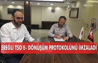 Kdz. Ereğli TSO E- Dönüşüm İş Birliği protokolü imzaladı