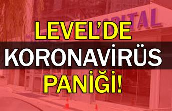 Level'de Koronavirüs paniği'