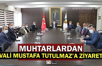 Muhtarlardan Vali Mustafa Tutulmaz'a Ziyaret