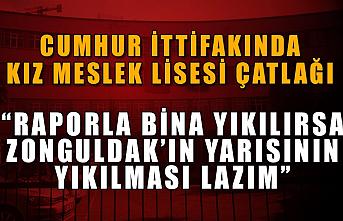 """""""Raporla bina yıkılırsa Zonguldak'ın yarısının yıkılması lazım"""""""