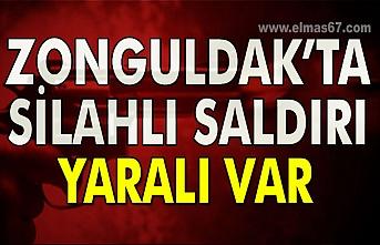 Zonguldak'ta silahlı saldırı Yaralı var