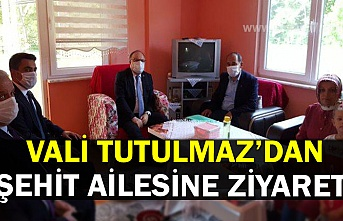 TUTULMAZ'DAN ŞEHİT AİLESİNE ZİYARET