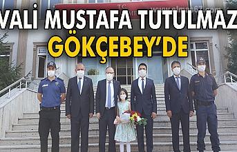 Vali Mustafa Tutulmaz Gökçebey'de