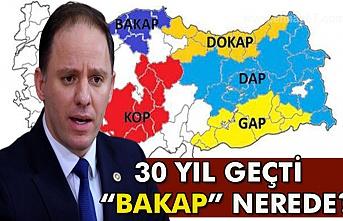 """Yavuzyılmaz: 30 yıl geçti """"Bakap"""" nerede ?"""