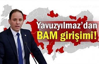 Yavuzyılmaz'dan BAM girişimi!