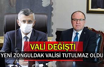 Yeni Zonguldak Valisi Tutulmaz Oldu