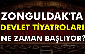 Zonguldak'ta devlet tiyatroları ne zaman başlıyor?
