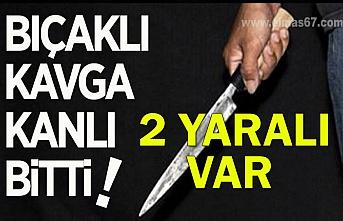 Zonguldak'ta bıçaklı kavga kanlı bitti: 2 yaralı var...