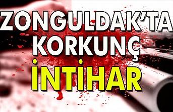 Zonguldak'ta korkunç intihar