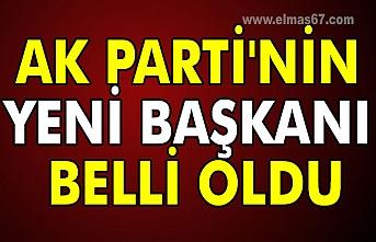 AK Parti'nin yeni başkanı belli oldu
