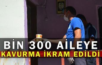 Bin 300 Aileye Kavurma İkram Edildi