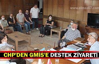 CHP'den GMİS'E destek ziyareti