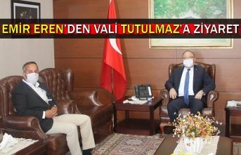 Emir Eren'den Vali Tutulmaz'a ziyaret