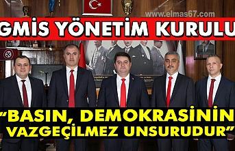 """GMİS yönetim kurulu; """"Basın, demokrasinin vazgeçilmez unsurudur"""""""