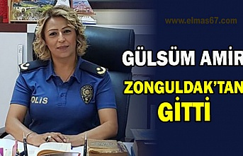 Gülsüm Amir Zonguldak'tan gitti.