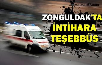 Zonguldak'ta İntihara teşebbüs