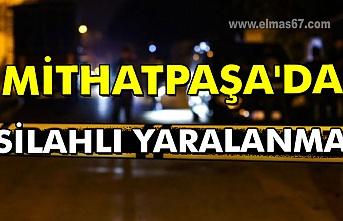 Mithatpaşa'da silahlı yaralanma