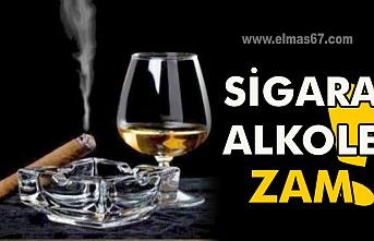 Sigara ve alkole zam !