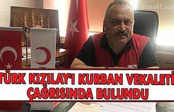 Türk Kızılay'ı Kurban vekaleti çağrısında bulundu.