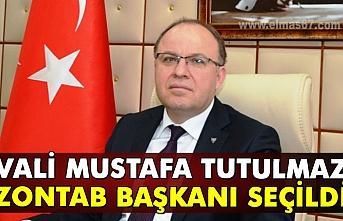 Vali Mustafa Tutulmaz ZONTAB başkanı seçildi.