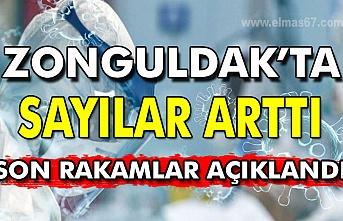 Zonguldak'ta sayılar arttı. Son rakamlar açıklandı