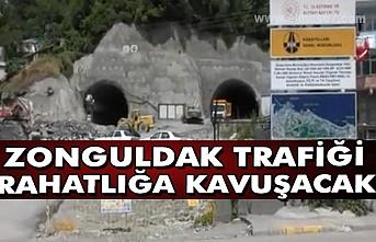 Zonguldak trafiği rahatlığa kavuşacak.