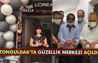 Zonguldak'ta  güzellik merkezi açıldı.