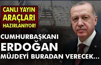 Canlı yayın araçları hazırlanıyor! Cumhurbaşkanı Erdoğan müjdeyi buradan verecek…