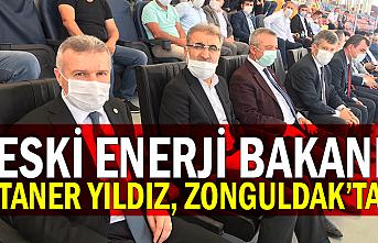 Eski Enerji Bakanı Taner Yıldız, Zonguldak'ta