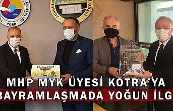 MHP MYK Üyesi Kotra'ya bayramlaşmada yoğun ilgi
