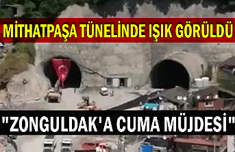 """Mithatpaşa tünelinde ışık görüldü """"Zonguldak'a cuma müjdesi"""""""