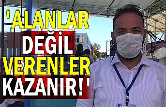 Mustafa Çağlayan'dan çarpıcı açıklamalar 'Alanlar değil verenler kazanır!'