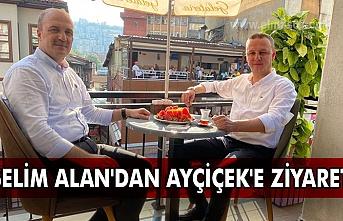 Selim Alan'dan Ayçiçek'e ziyaret.