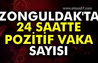 Zonguldak'ta 24 saatte pozitif vaka sayısı