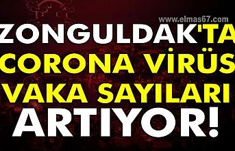 Zonguldak'ta Corona virüs vaka sayıları artıyor!