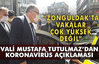 """""""Zonguldak'ta vakalar yüksek değil. Vali Mustafa Tutulmaz'dan Corona virüs açıklaması"""