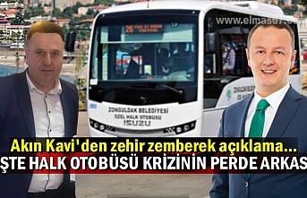 Akın Kavi'den zehir zemberek açıklama... İşte halk otobüsü krizinin perde arkası