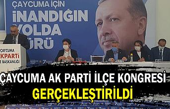 Çaycuma AK Parti ilçe kongresi gerçekleştirildi