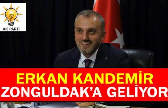 Erkan Kandemir Zonguldak'a geliyor