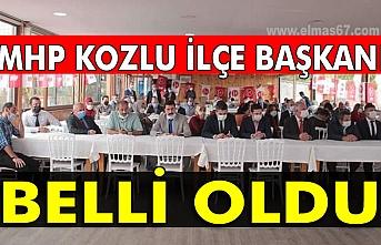 MHP Kozlu İlçe Başkanı belli oldu...