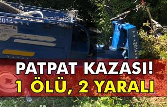 Patpat kazası: 1 ölü, 2 yaralı